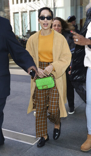 Zoe Kravitz Seen In NYC