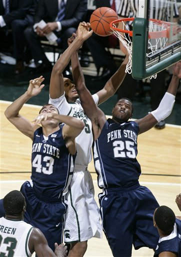 Ross Travis, Adreian Payne, Jon Graham