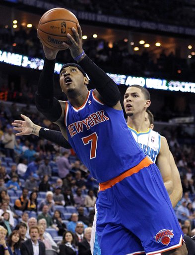 Carmelo Anthony, Austin Rivers