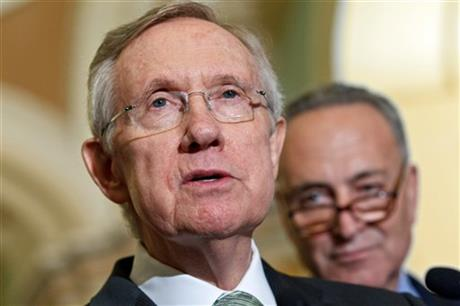 Charles Schumer, Harry Reid