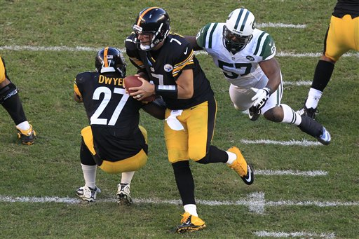 Ben Roethlisberger,  Bart Scott
