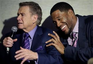 Regis Philbin, Michael Strahan