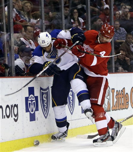 Jakub Kindl, Chris Stewart