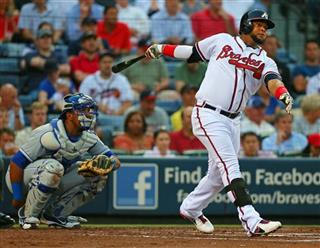 Royals Braves Basaeball
