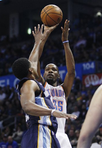 Kevin Durant, Rudy Gay