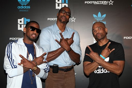 Fabolous, Dwight Howard, DMC