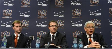 Gus Malzahn, Ellis Johnson, Rhett Lashlee