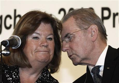 Jacques Rogge, Gunilla Lindberg