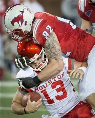 APTOPIX Houston SMU Football