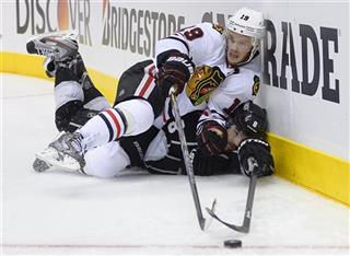 APTOPIX Blackhawks Kings Hockey
