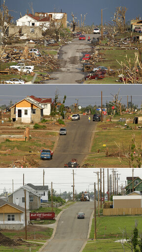 Joplin Tornado Then and Now