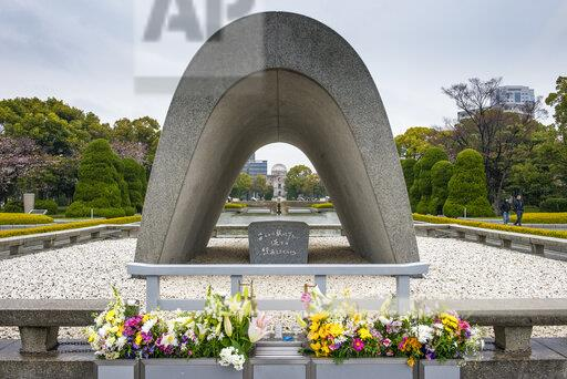 Japan, Hiroshima Peace Memorial in Hiroshima