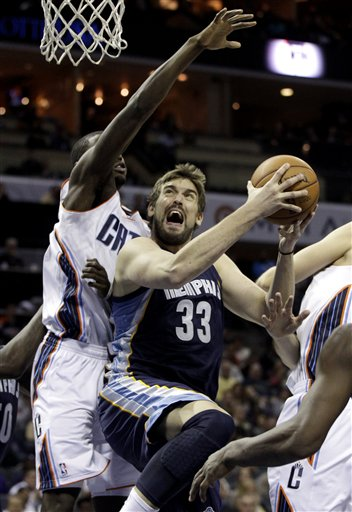 Marc Gasol, Bismack Biyombo