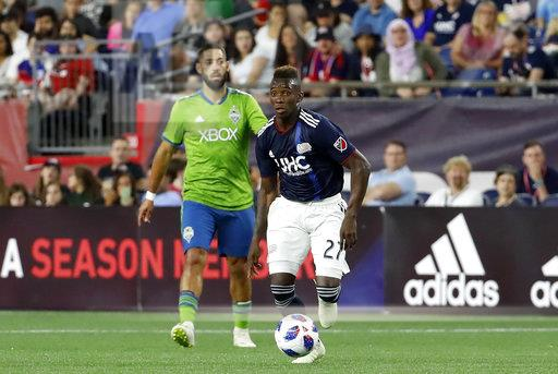 SOCCER: JUL 07 MLS - Seattle Sounders at New England Revolution