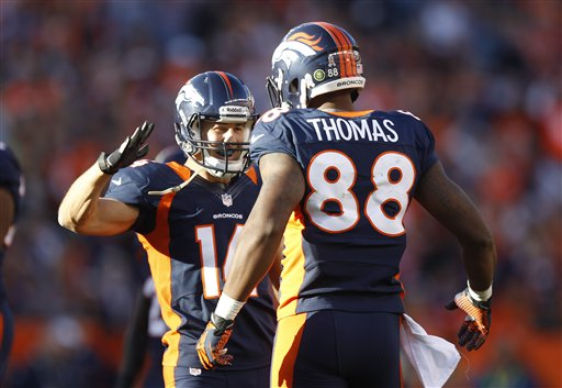 Brandon Stokley, Demaryius Thomas