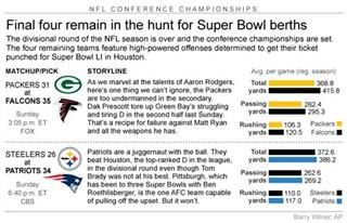 NFL CONF PICKS