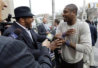 Ray Lewis, Jacoby Jones