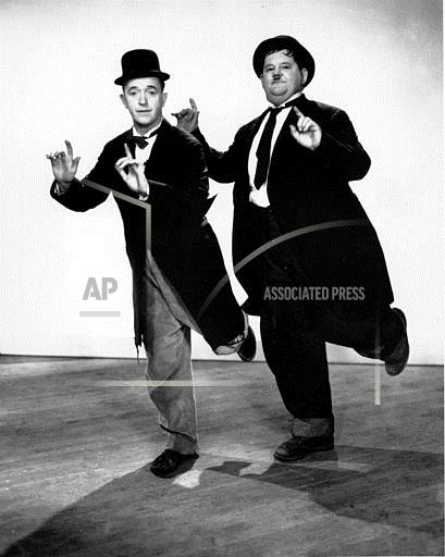 Associated Press Domestic News United States Entertainment, celebrities LAUREL AND HARDY