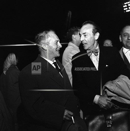 Watchf AP I   RUS APHS276024 George Balanchine with brother Andre