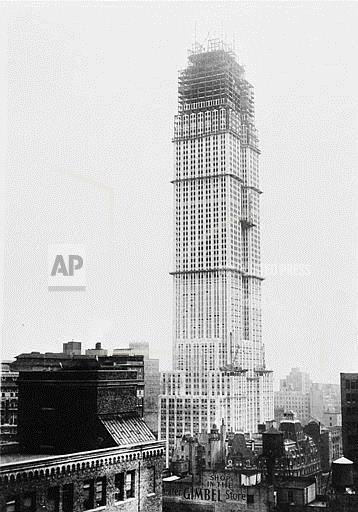Associated Press Domestic News New York United States EMPIRE STATE BUILDING
