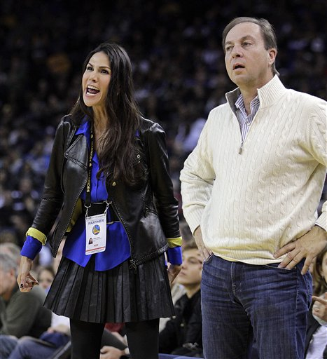 Joe Lacob, Nicole Curran