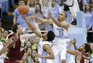 Brice Johnson, Joel Berry II, Kenny Williams, Sammy Barnes-Thompkins