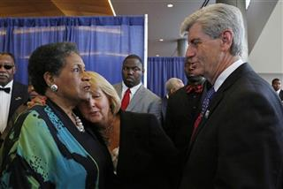 Deborah Bryant, Phil Bryant, Myrlie Evers-Williams