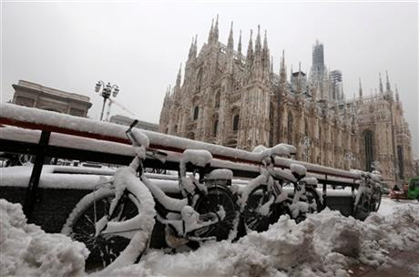 Italy Winter Weather