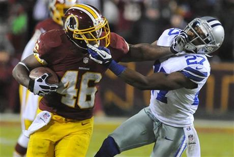 Alfred Morris, Eric Frampton