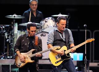 Bruce Springsteen, Nils Lofgren, Max Weinberg