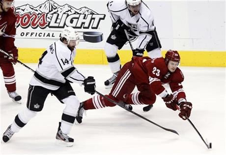 Oliver Ekman-Larsson, Justin Williams, Anze Kopitar
