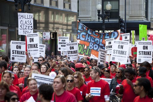Chicago Schools-Strike