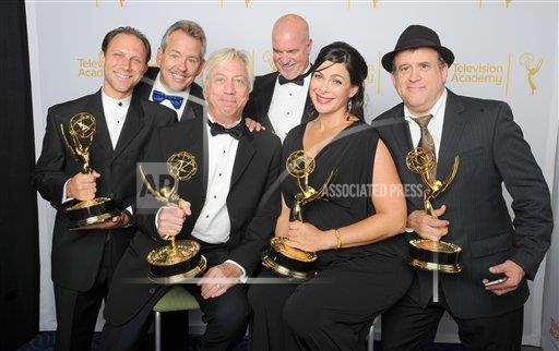 inVision Vince Bucci/Invision/AP A ENT CPAENT CA USA INVL Television Academy's 2014 Creative Arts Emmy Awards - Portraits