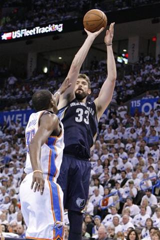 Marc Gasol, Kevin Durant