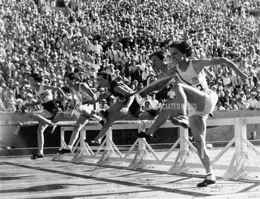 Watchf Associated Press Sports Track and field  United States APHS113996 Mildred Didrikson