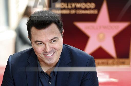 Seth MacFarlane Honored with a Star on the Hollywood Walk of Fame