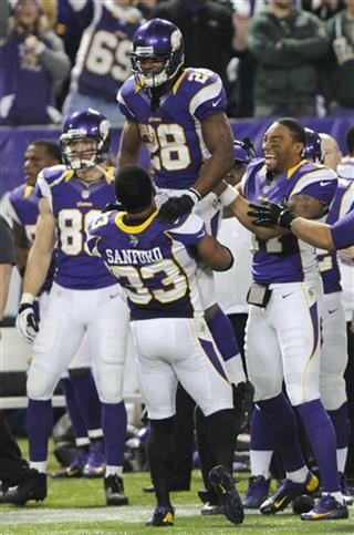 Adrian Peterson, Jamarca Sanford