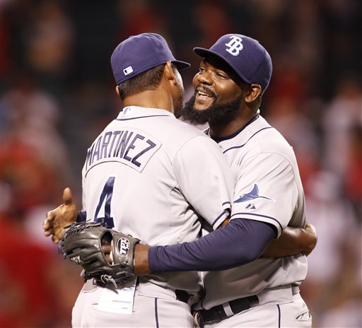 Fernando Rodney, Dave Martinez