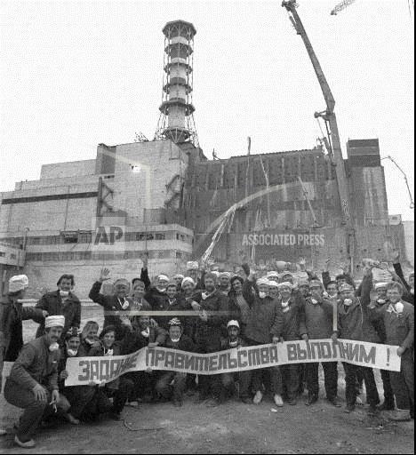 Associated Press International News Ukraine UKRAINE CHERNOBYL