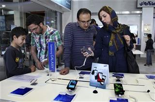 Mideast Iran Samsung