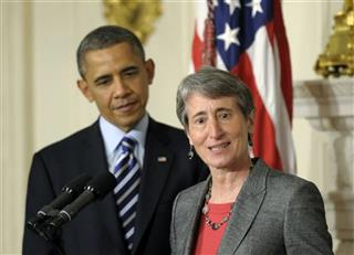 Barack Obama, Sally Jewell