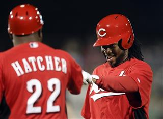 Billy Hatcher, Johnny Cueto