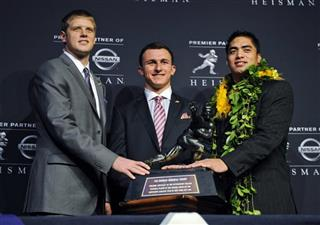 Johnny Manziel, Collin Klein, Manti Te'o