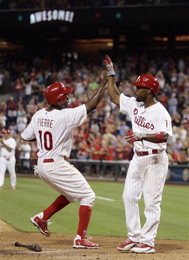 Juan Pierre, Jimmy Rollins
