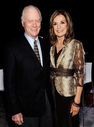 Larry Hagman, Linda Gray