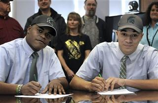 Signing Day Michigan St Football