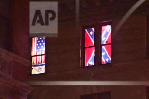 Confederate Flags Window