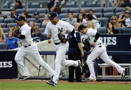 Derek Jeter, Robinson Cano, Nick Swisher