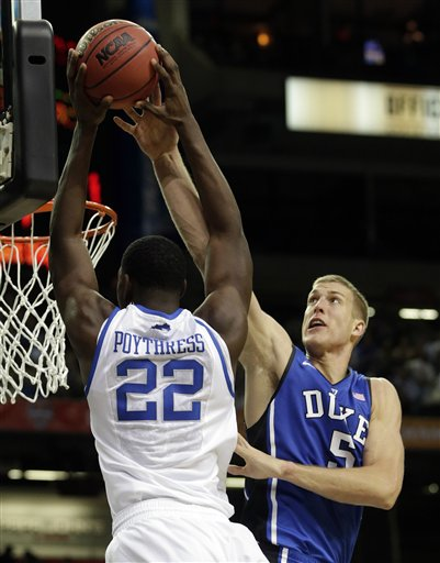 Mason Plumlee, Alex Poythress