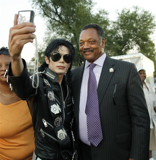 Jesse Jackson, Michael Jackson